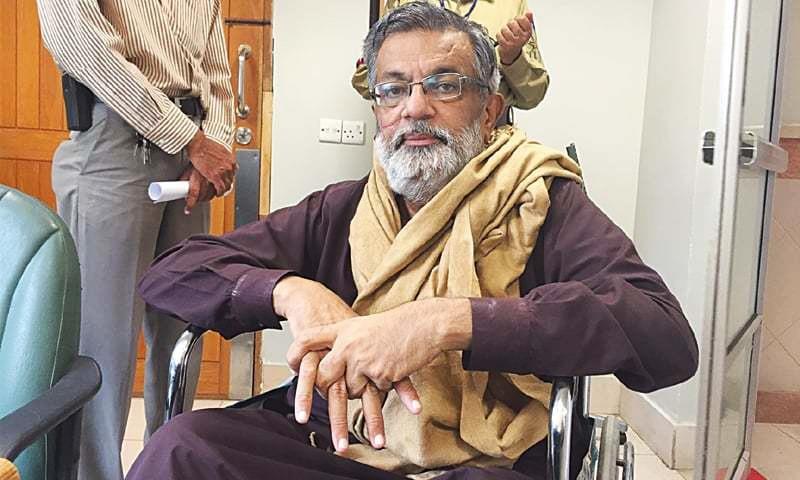 Muttahida Qaumi Movement MNA Rashid Godil.