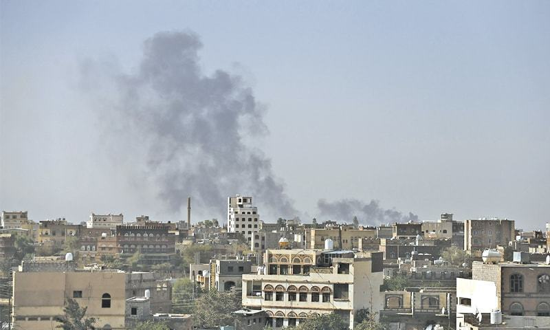 The air raids by the coalition have intensified in recent weeks as a Gulf Arab ground force and fighters loyal to exiled President Abd-Rabbu Mansour Hadi prepare a campaign to recapture Sanaa, seized by Houthi fighters in September 2014. — Reuters/File