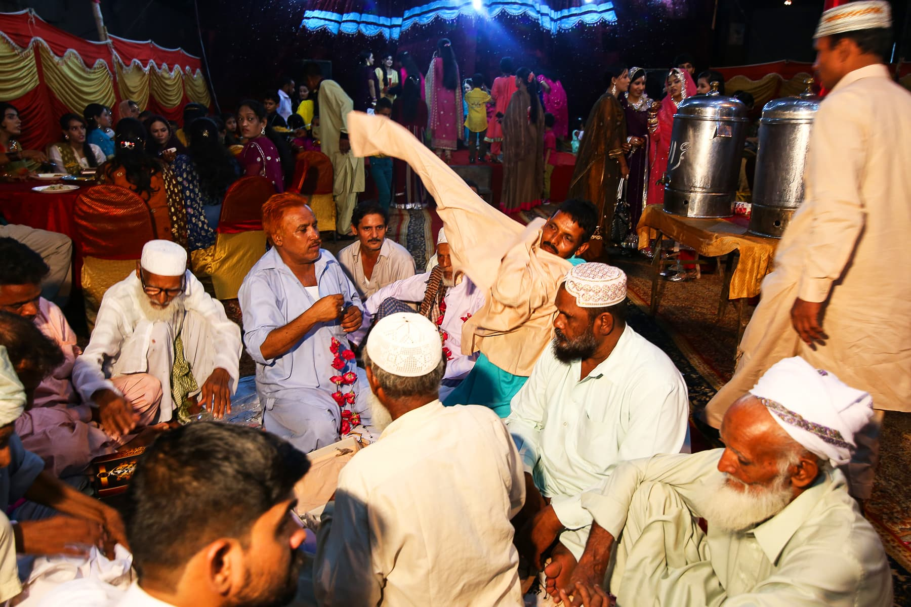 Bahut, the tradition where the bride's family gifts the groom's family with clothes..