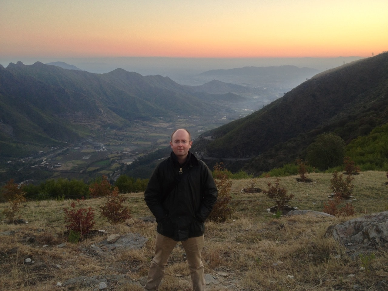 Dr John Horgan on his visit to Swat Valley.
