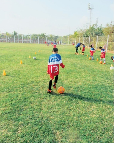 Children in other countries study as well as play sports professionally. Maintaining balance between the two is the key