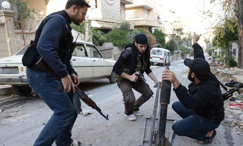 Central Command said in a news release that about 70 graduates of the Syria Train and Equip program had re-entered Syria with their weapons and equipment and were operating as New Syrian Forces alongside Syrian Kurds, Sunni Arab and other anti-IS forces. — AFP/File