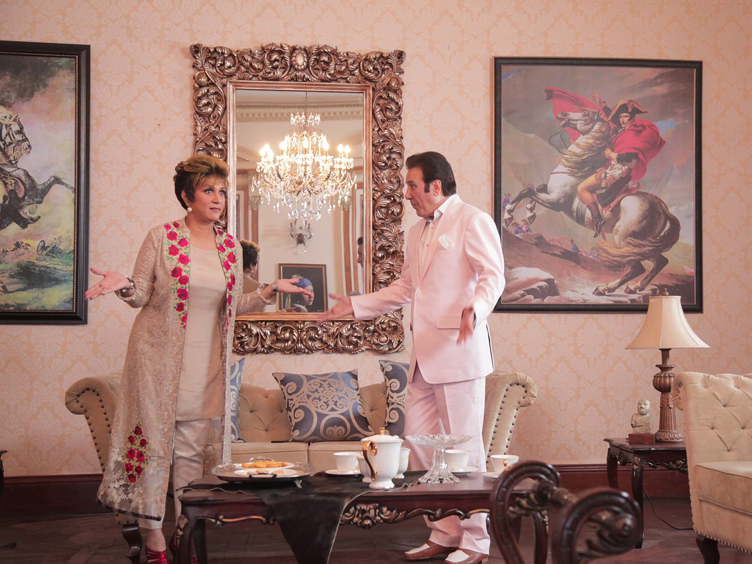 Veterans Bushra Ansari and Javed Sheikh bring some extra zing to the film — Publicity photo
