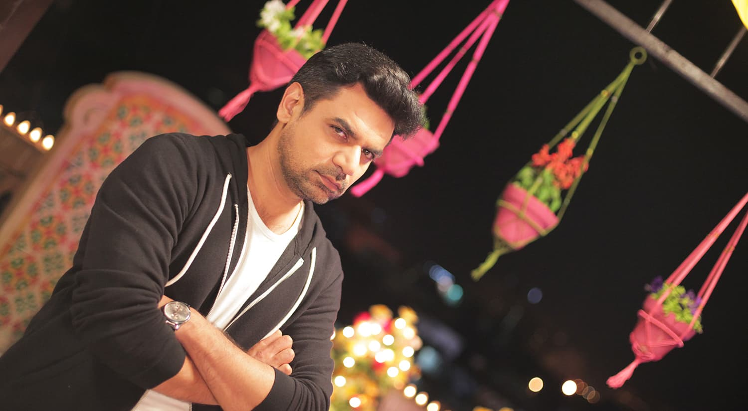 Vasay Chaudhry wrote the script for JPNA. —Publicity photo