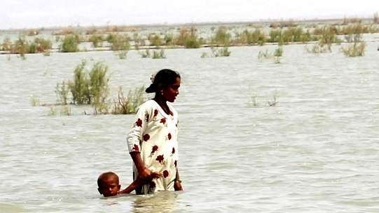 Till the 1990s women worked side by side the men in catching fish in the lake; now most men have gone to the sea leaving women to take care of the children and the elderly.