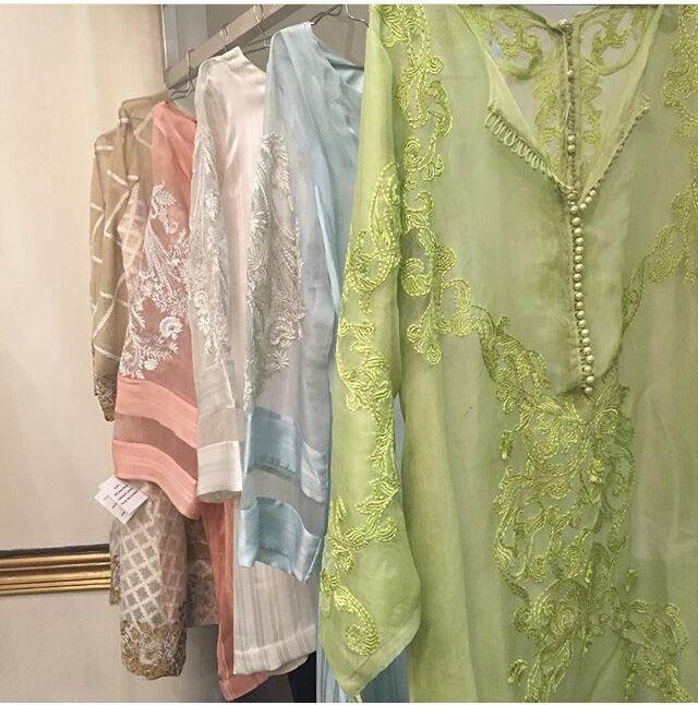 Maison De Lace showcases pastel hues