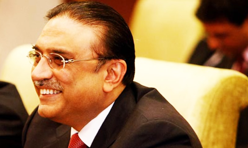 Zardari talked to Mr Wattoo by telephone from Dubai amid reports that the latter was being removed from the office of the PPP Punjab president.—AP/File