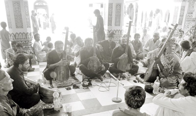 The shrine of Sufi saint Shah Abdul Latif in Sindh's Matiari District was a major rallying point of MRD activists in 1983.