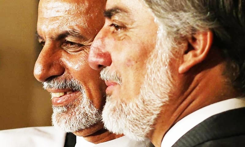 """Disagreements between Abdullah and Ghani leave the door open for """"foreign interference"""".—Reuters/File"""