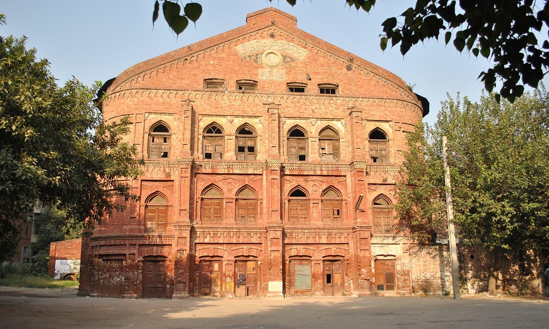 Bradlaugh Hall on Rattigan Road in Lahore.