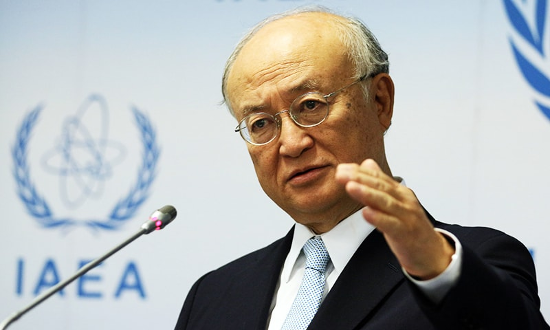 IAEA praises Pakistan's nuclear security record