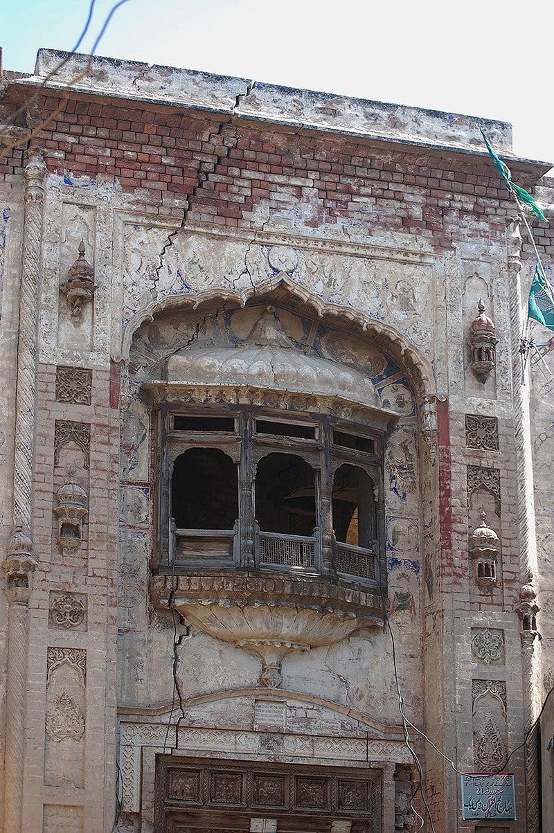 Entrance to the temple at Malka Hans. —Photo by Rida Arif