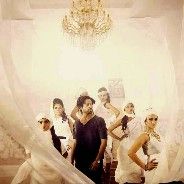 A BTS shot shows a dazed Fahad. — Photo courtesy: Mah-e-Meer's Facebook