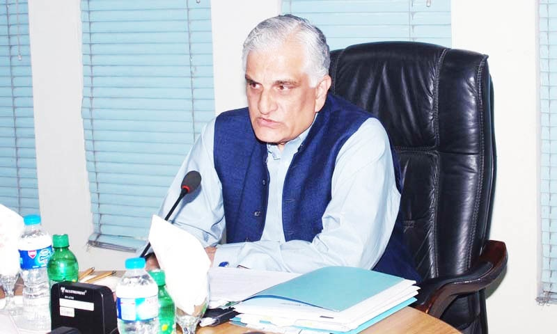 Hamid says the committee suggested imposition of fines of up to Rs50mn on violators of the code of conduct.—PCST website