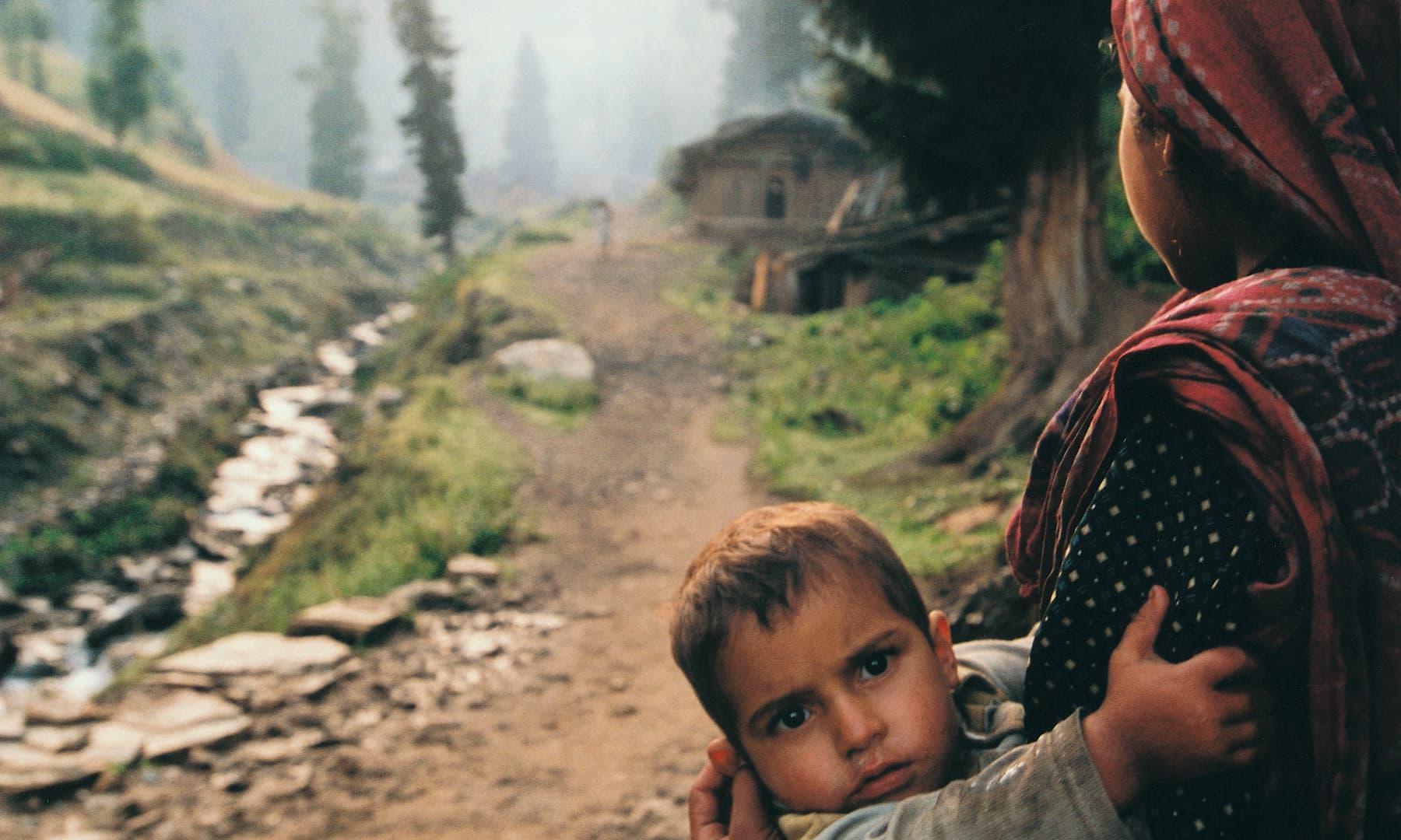 Scenes from the village life of Taobat | Arif Mahmood, White Star