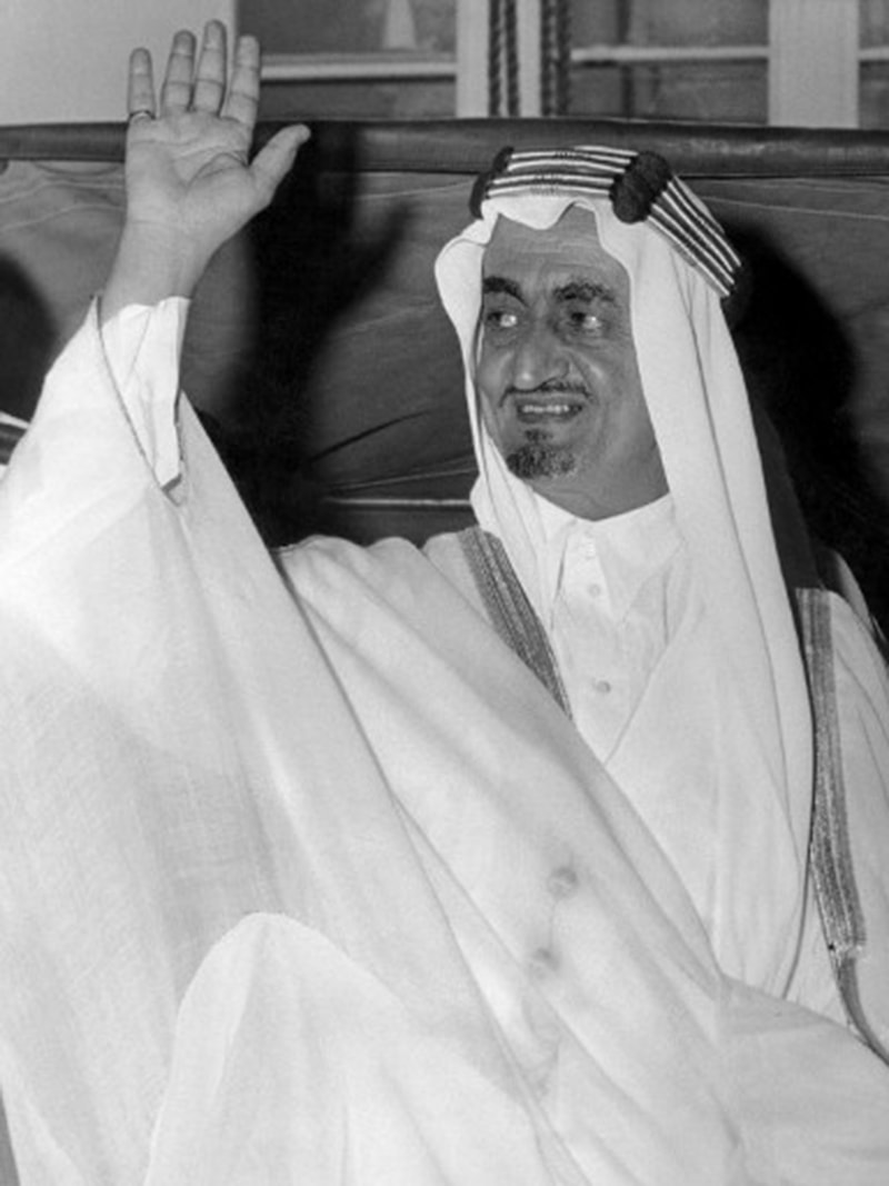 King Faisal soon after becoming King (1964).