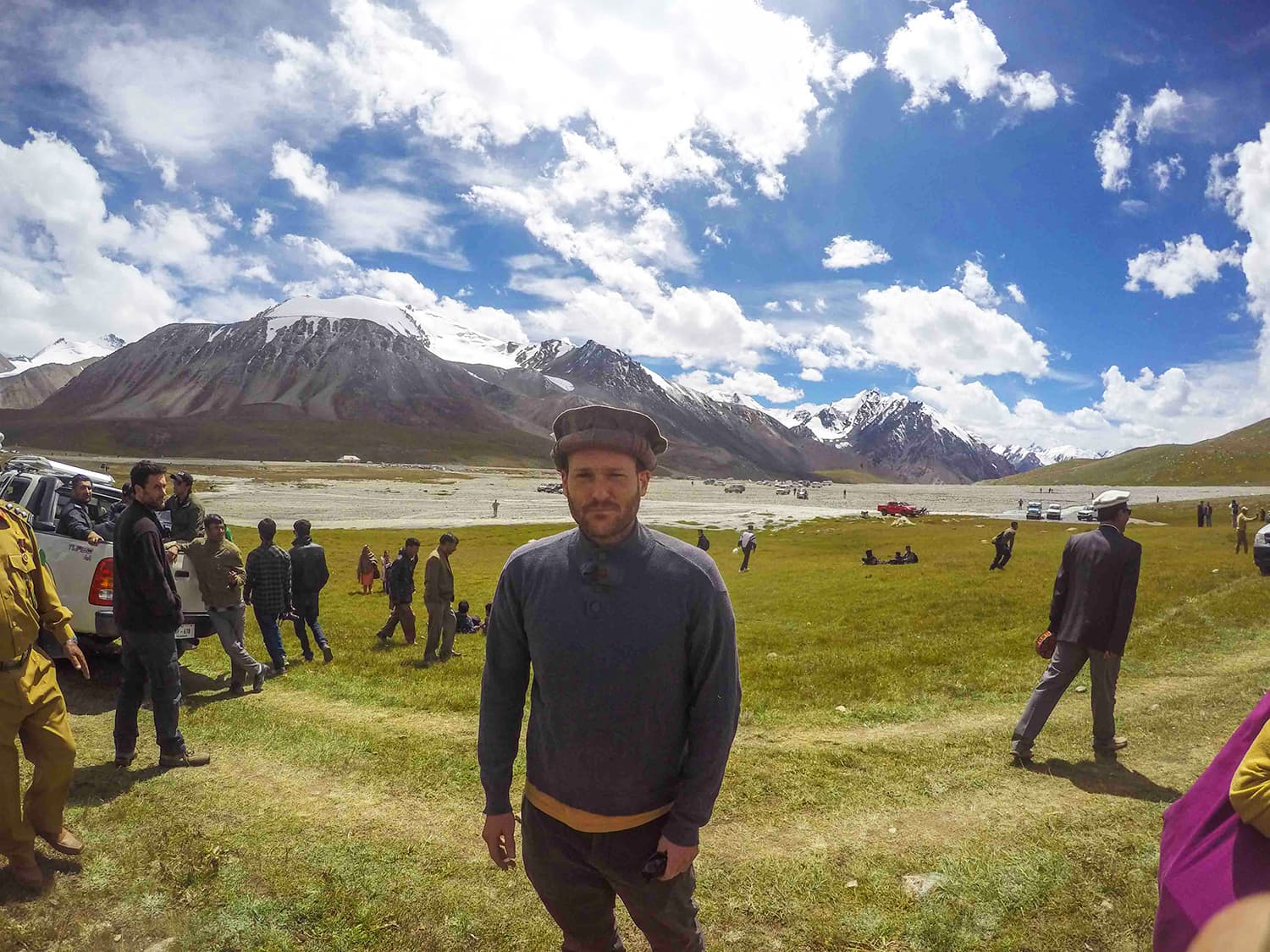 At the stunning Khunjerab National Park trying really hard to fight altitude sickness. —Madeeha Syed