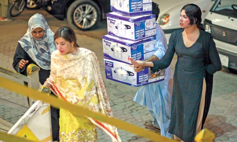 Sex worker in pakistan city multan