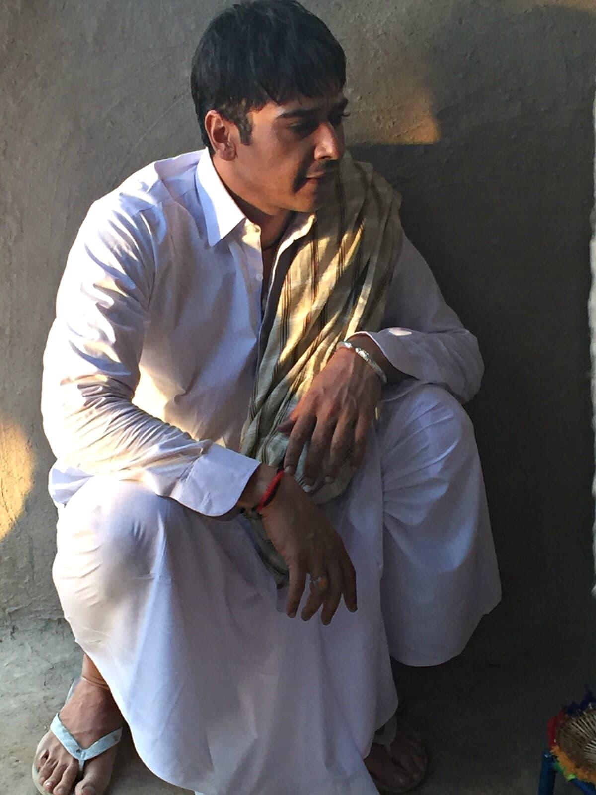 Faysal as Laloo - Photo courtesy Faysal Quraishi