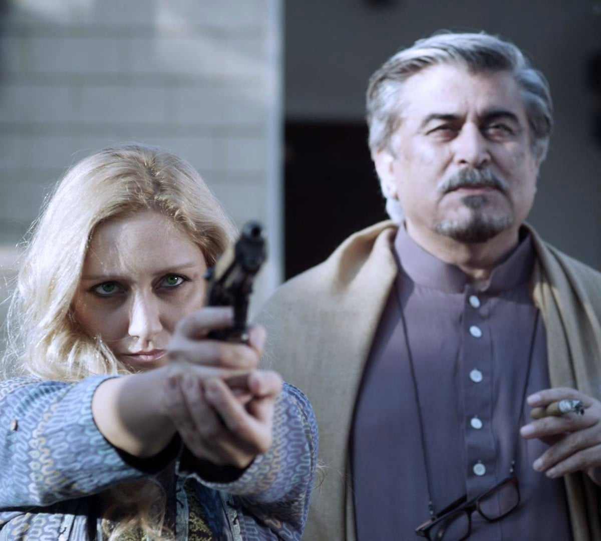 Turkish actress Emil Karakose stars as Jamal Shah's daughter in the film