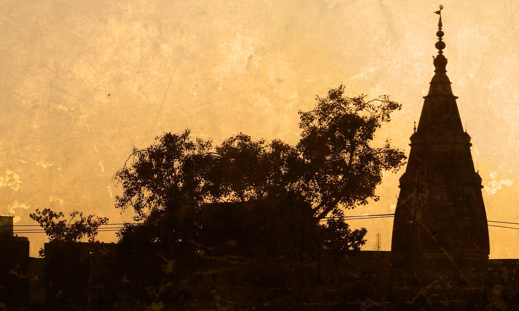 Mandir in Ganjmandi. —Muhammad Bin Naveed