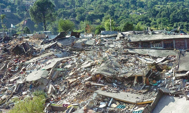 In some cases people have rebuilt their homes along the quake fault line, despite warnings from experts that another, bigger quake may yet come. ─ AFP/File