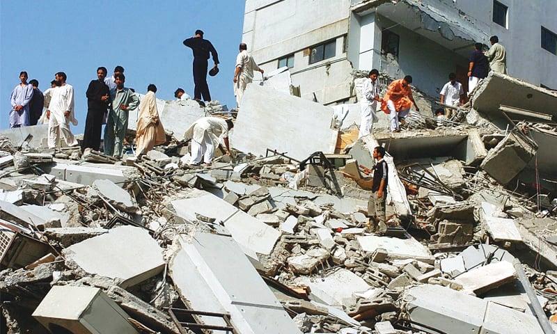 The 7.6-magnitude quake near the city of Muzaffarabad in Azad Jammu and Kashmir (AJK) killed more than 73,000 people. ─ AFP/File