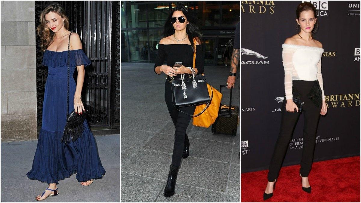 Trendspotting celebrity stars in stripes