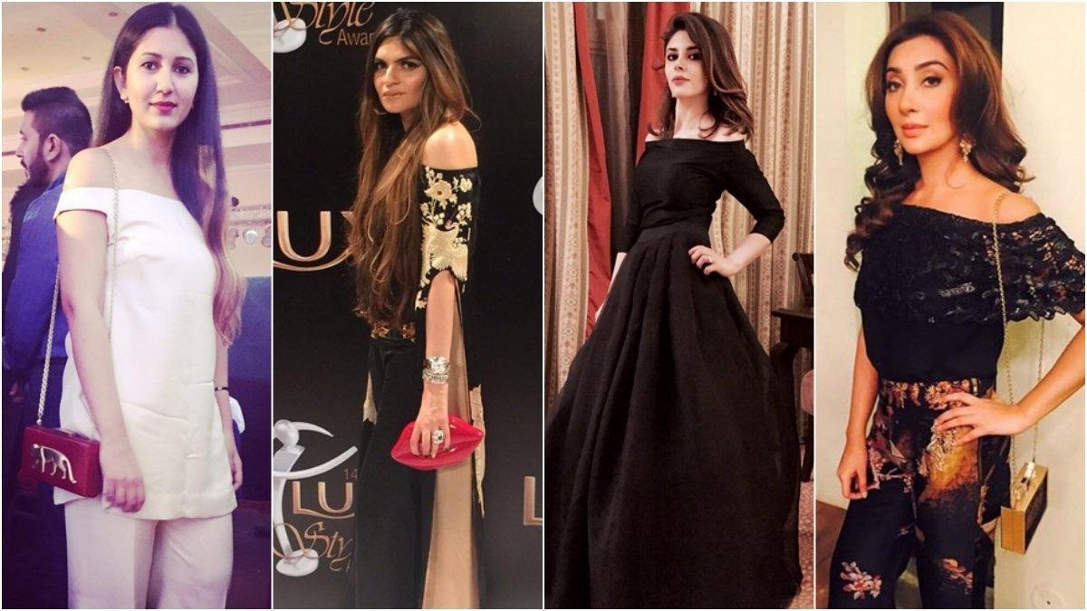 Image result for Off shoulder trend in Pakistan