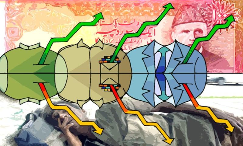 سرمائے کی طاقت سے لڑے جانے والے انتخابات میں سیاسی نظریات کی موت ہوچکی ہے اور نظریہ ضرورت ہی سکہء رائج الوقت ہے۔ — خاکہ خدا بخش ابڑو۔
