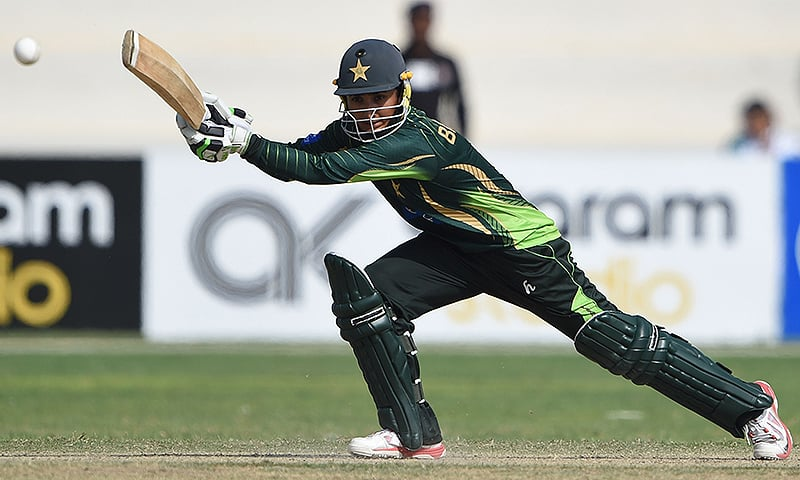 There should be a separate national academy for aspiring female cricketers, says Bismah. — AFP