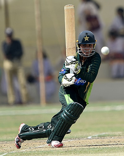 My batting style is natural but I'm mostly inspired by right-handed players. — AFP