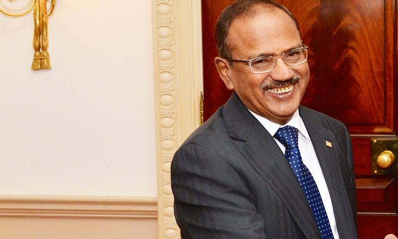 NSA Ajit Doval is grappling with a face-off between the Ministry of Home Affairs (MHA) and the army. —Creative Commons