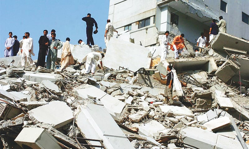 Remembering Oct 8, 2005: The day the earth shook - Pakistan - DAWN.COM