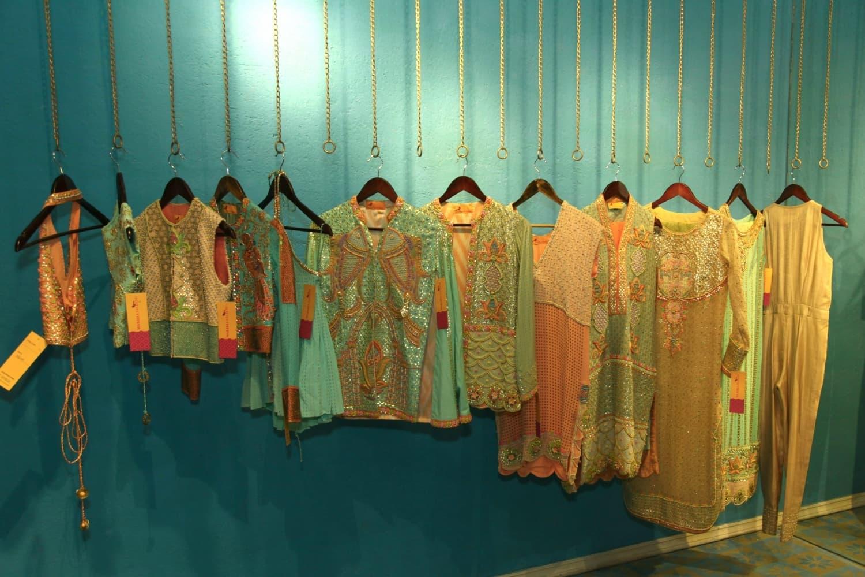 Luxury pret at Wardha's store