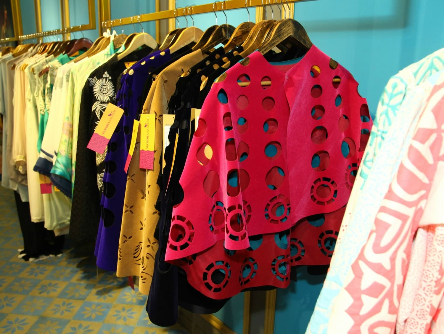 Some of the best buys at the store are found in Wardha's pret line