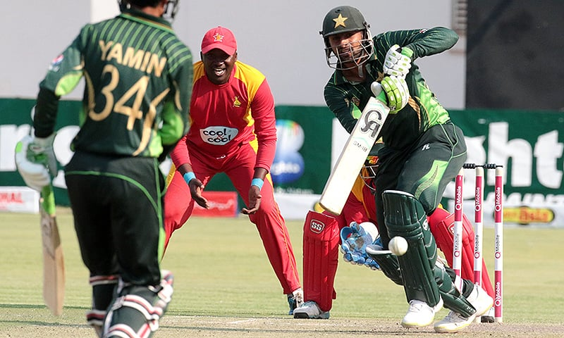 """""""Azhar has done well at number three so I will try to maintain what he has done."""" — AFP"""