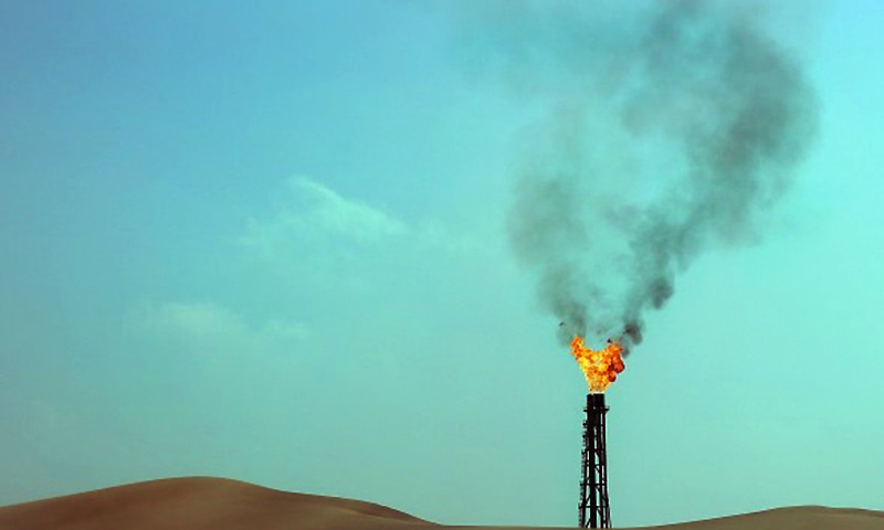 The Latif South-1 well had a gas throughput of 2,500 barrels of oil equivalent (boe) a day during testing, the company said in a statement. ─ AFP/File