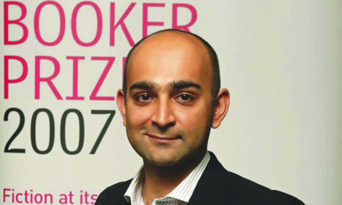 At the announcement  of the Booker Prize Shortlist in 2007 |Courtesy Mohsin Hamid