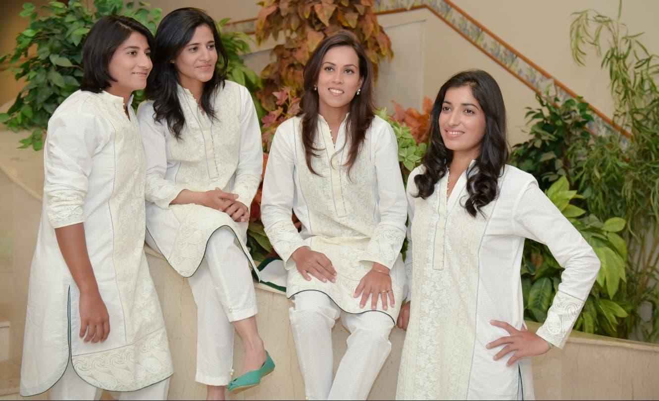 The Pakistan women's cricket team gets stylish with off-duty kurtas