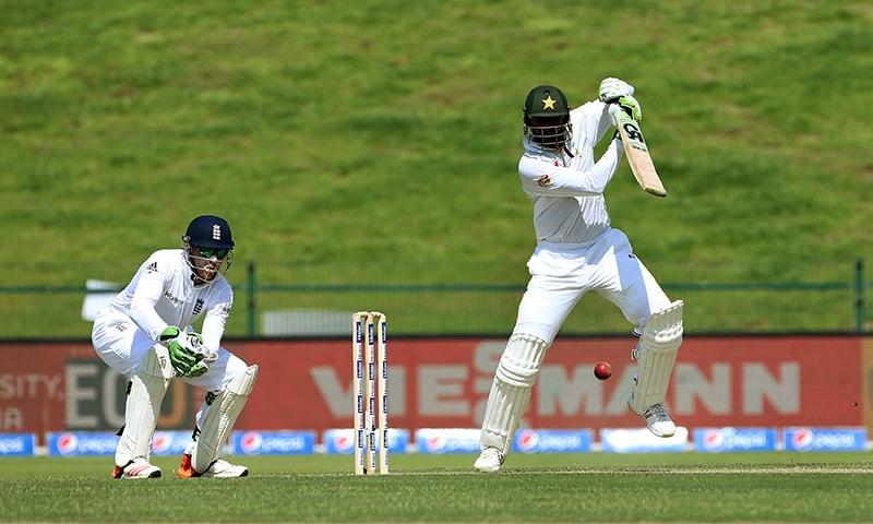 1st Test: Malik marks Test comeback in grand style
