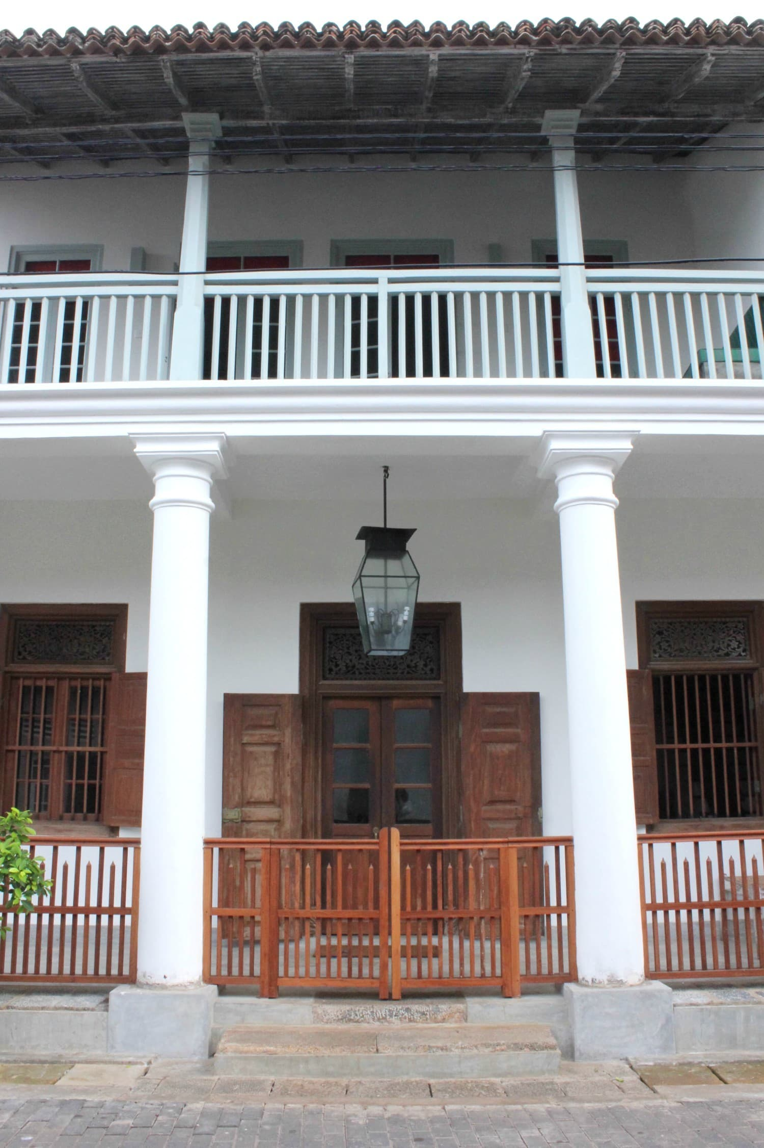 The front facade of Mrs Khalid's Guest House – Photo by author