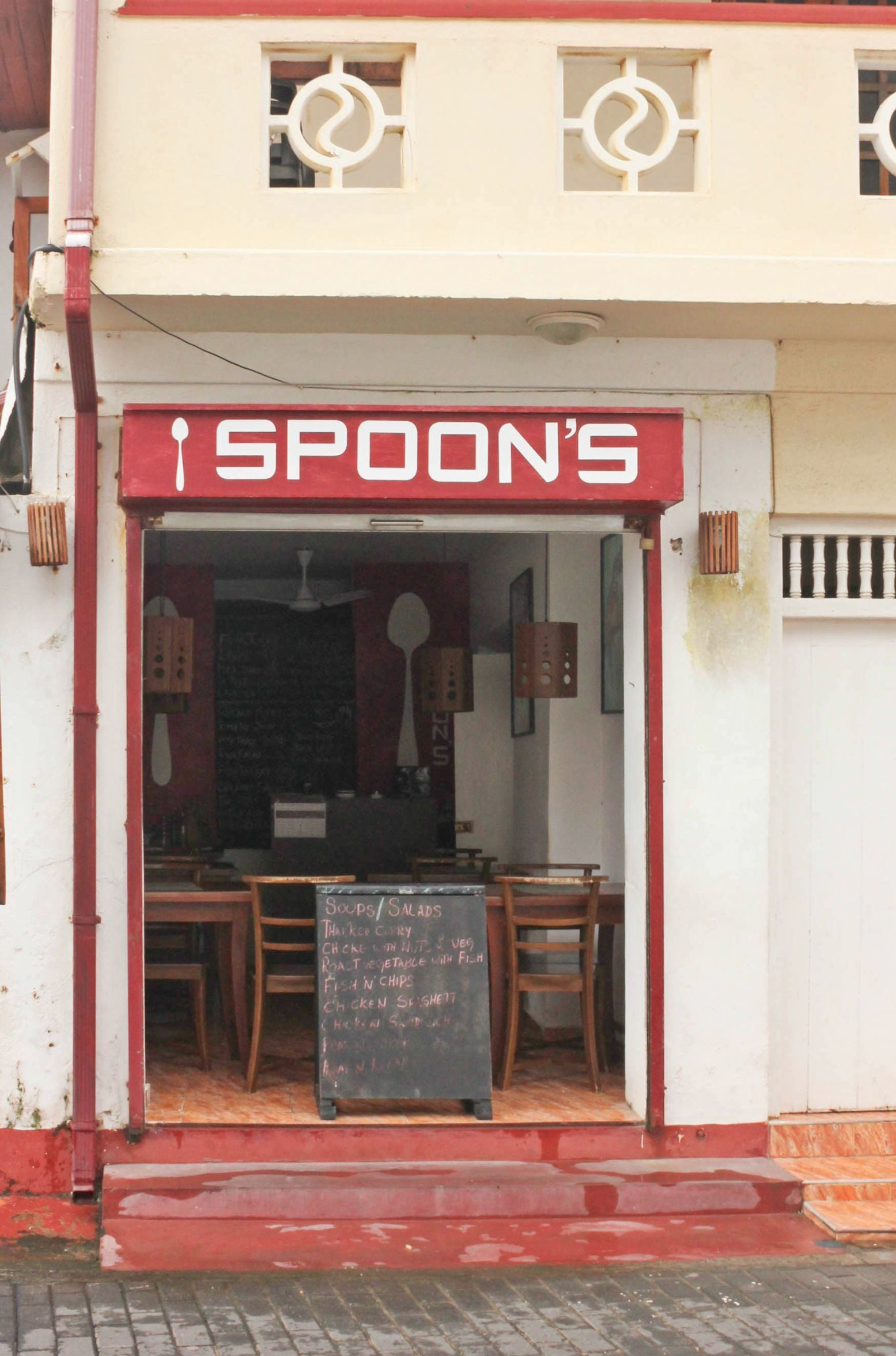 Little cafes like Spoons add to the diversity of Galle Fort's culinary scene - Photo by author
