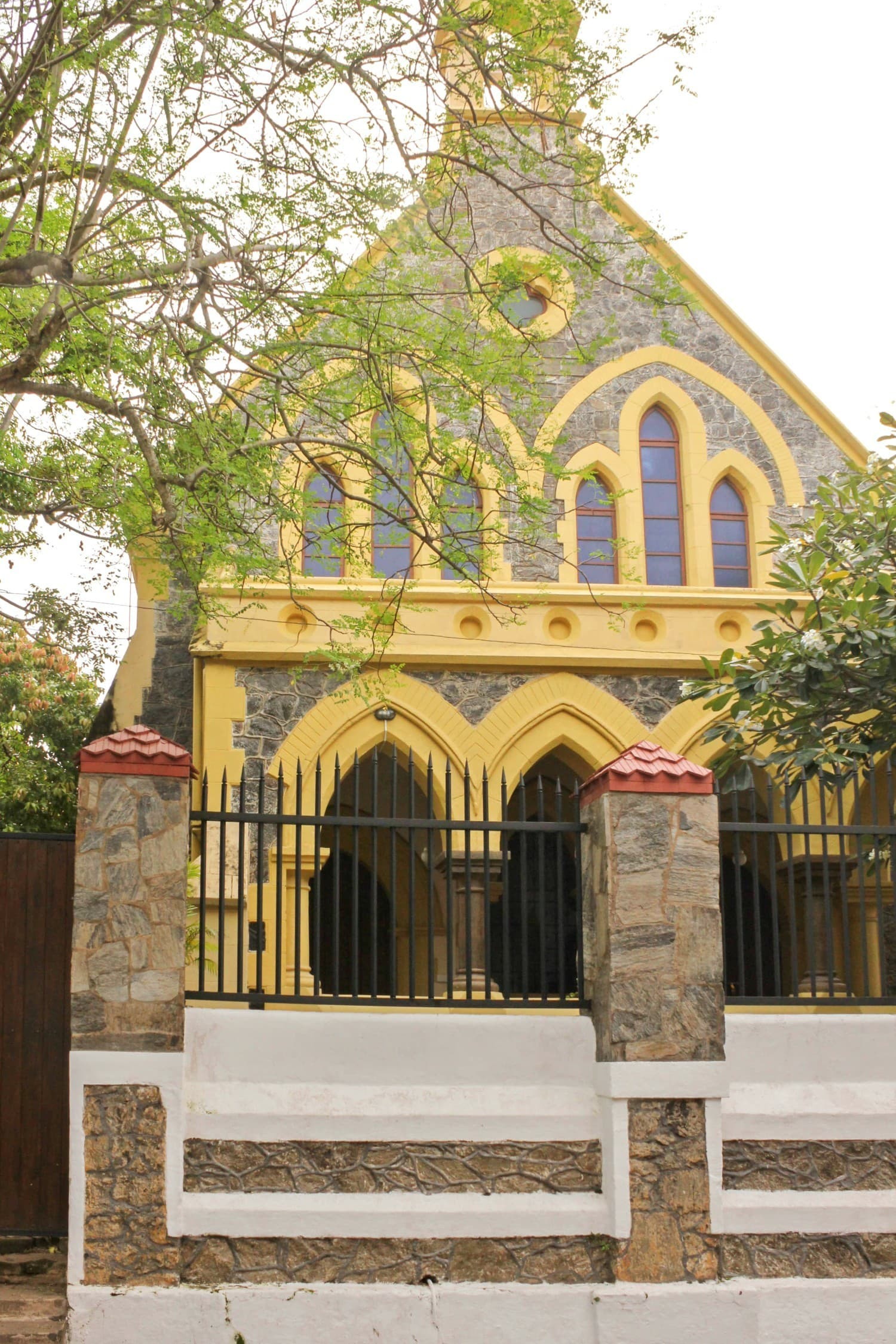 The Methodist Church in Galle Fort - Photo by author