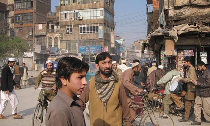 Peshawar, Pakistan, a city of 3.3 million people that has been deeply affected by terrorism. — Photo courtesy: The Guardian