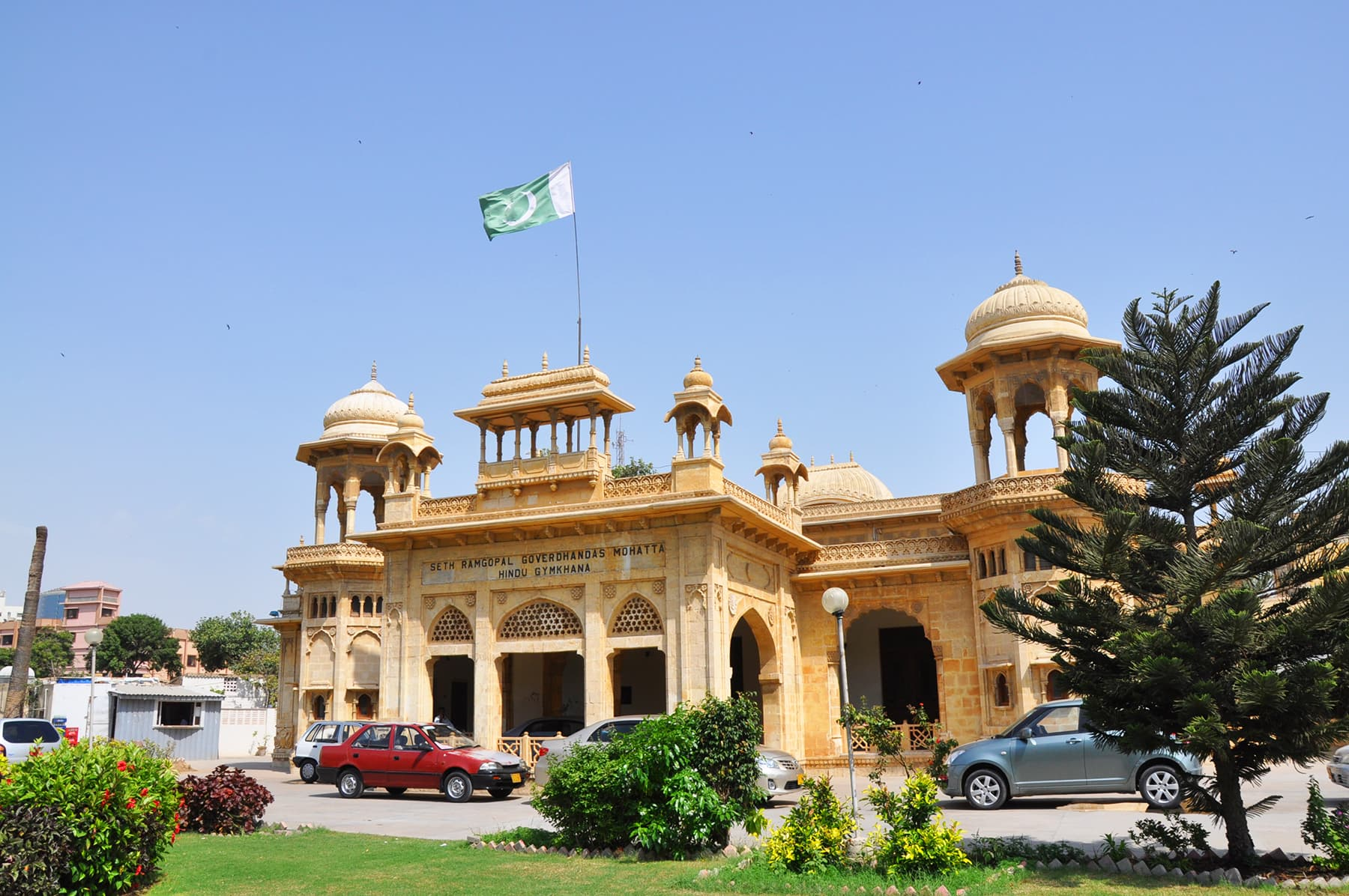 The credit goes to Napa for bringing the Hindu Gymkhana building back in public sphere.
