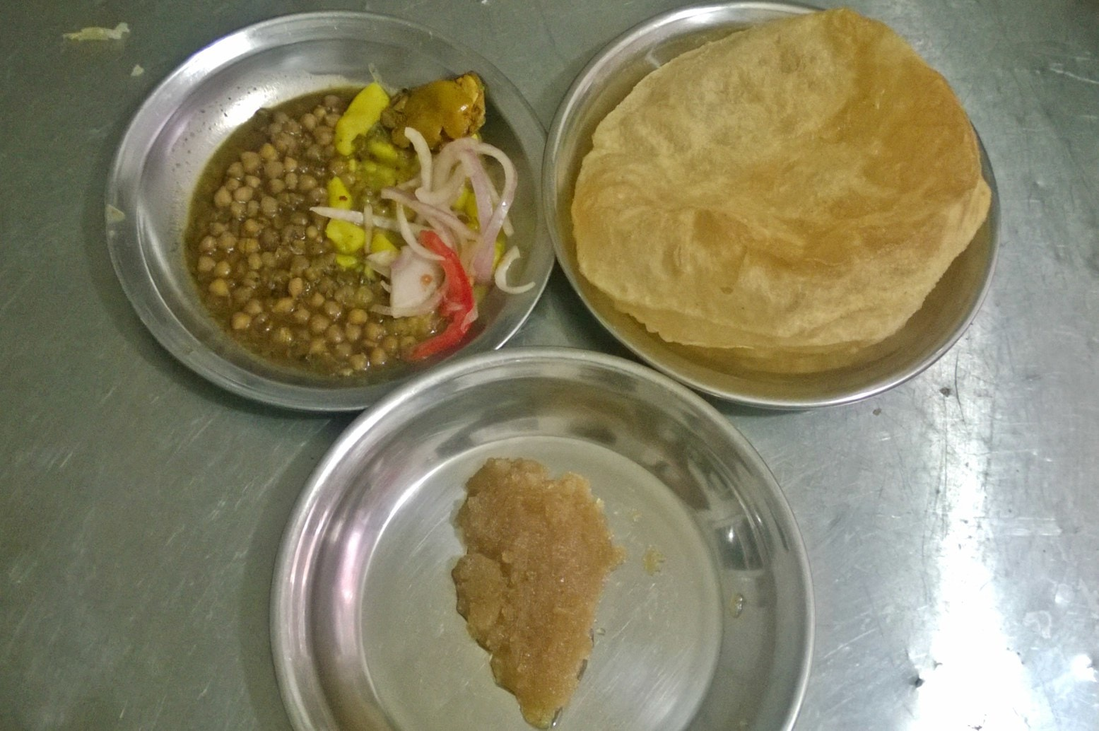 The halwa puri at Shaabu wasn't the best