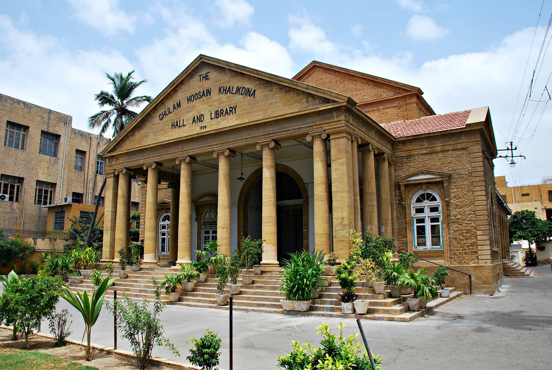 Khaliq Deena Hall in all its majesty.
