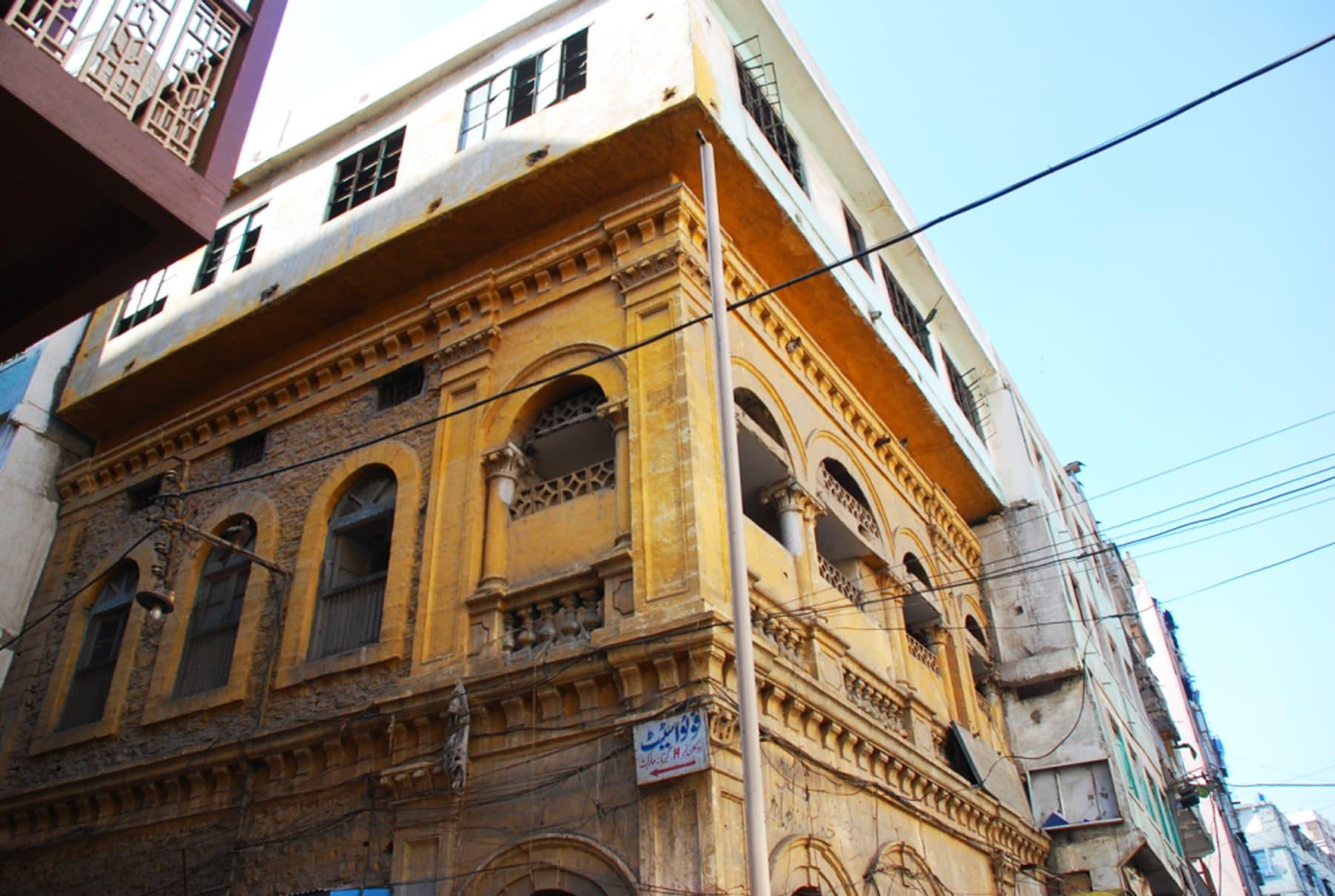 A walk around Wazir Mansion is a must.