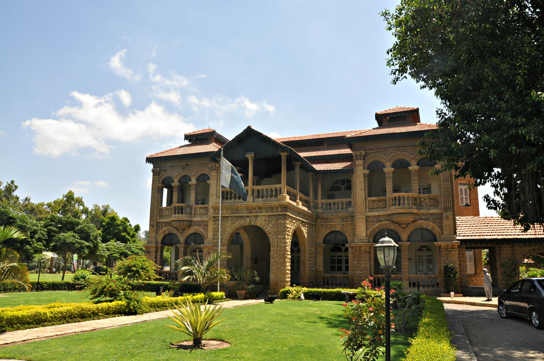 The Flagstaff house is one of the earliest of Moses Somake's work.